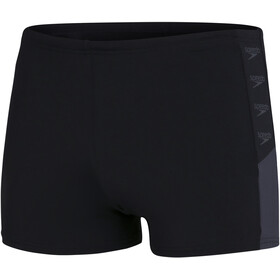 speedo Boom Logo Splice Aquashorts Men, black/oxid grey